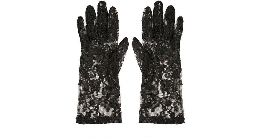 dolce & gabbana lace gloves - Buscar con Google