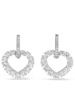 Chopard | Boucles d'oreilles en or blanc 18 carats et diamants L'Heure du Diamant | NET-A-PORTER.COM