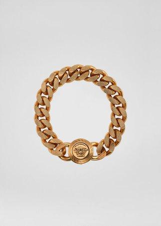 Versace Medusa Chain Bracelet for Men   UK Online Store