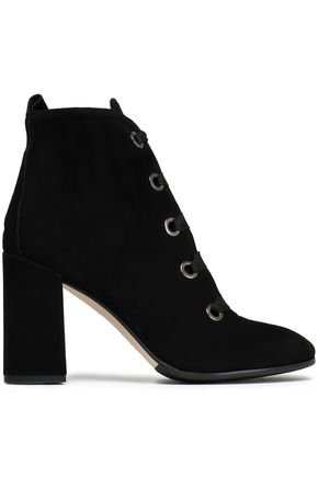Bea suede ankle boots | IRIS & INK | Sale up to 70% off | THE OUTNET