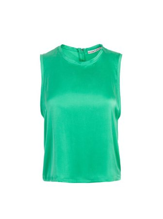 REGGIE MUSCLE TANK   Alice and Olivia