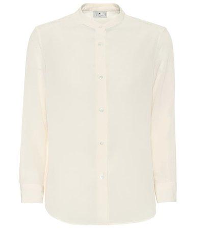 Etro - Silk blouse | Mytheresa