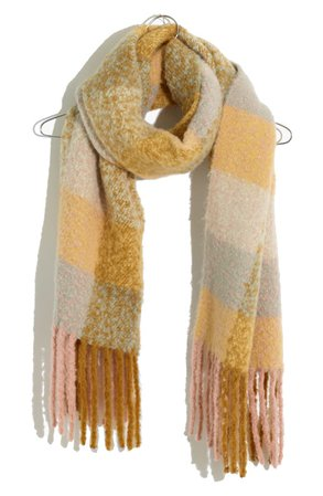 Madewell Brushed Scarf | Nordstrom