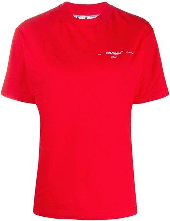 Off White arrows logo print T-shirt