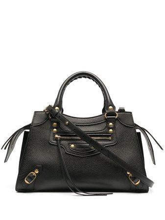 Black Balenciaga Neo Classic small top handle bag 63852115Y41 - Farfetch