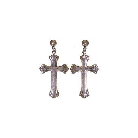 cross earrings png filler