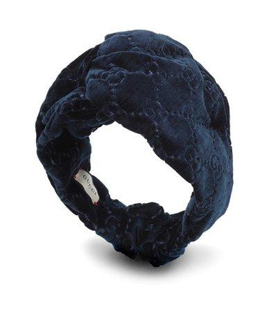 GG velvet headband