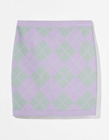 Diamond jacket and skirt set - NEW - Woman   Bershka