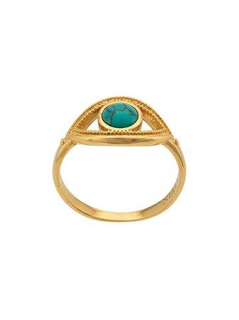 Nialaya Jewelry Anillo Con Diseño De Ojo - Farfetch