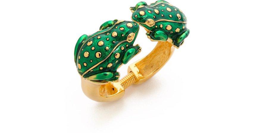 dual frog bracelet