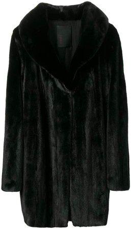 Liska loose-fit midi coat