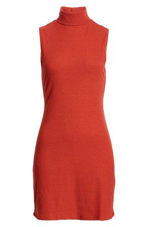 Reformation Paulina Rib Sleeveless Body-Con Minidress | Nordstrom