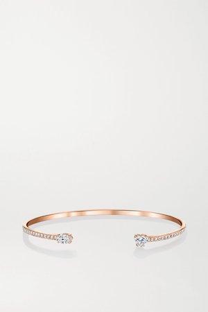 Rose gold 18-karat rose gold diamond cuff | Anita Ko | NET-A-PORTER