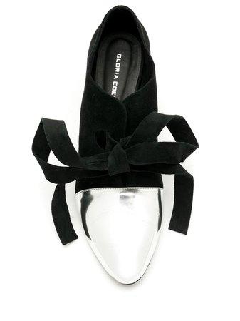 Zapatos de tacón con puntera en contraste Gloria Coelho disponibles en tallas 37 - 39. Envío express ✈ Devolución gratuita ✓