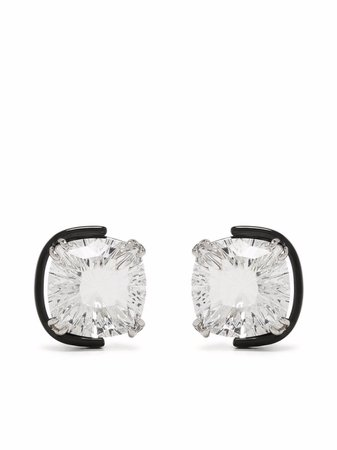 Swarovski Harmonia Swarovski crystal stud earrings - FARFETCH