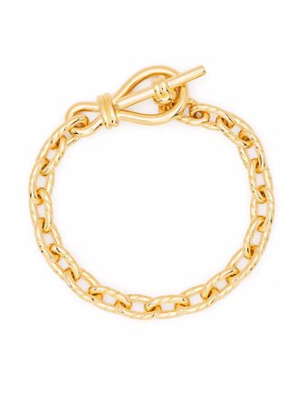 Missoma twisted link t-bar chain bracelet - FARFETCH