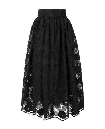 Black Bambah Midi Skirt