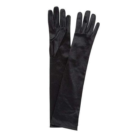 John Lewis Long Satin Evening Gloves, One Size at John Lewis