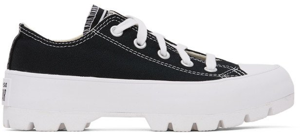 Black Lugged Chuck Taylor All Star Sneakers