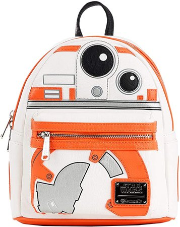 Loungefly BB8 Faux Leather Mini Backpack Standard: Toys & Games