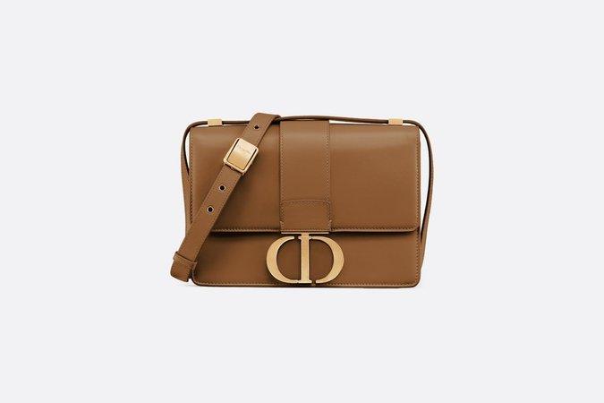 Brown 30 Montaigne Smooth Calfskin Flap Bag - Bags - Women's Fashion | DIOR
