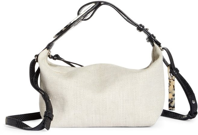 Slouchy Canvas Crossbody Bag
