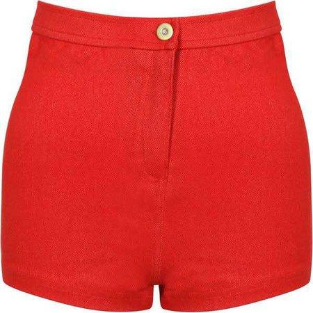 High Waisted Denim Shorts ($13)