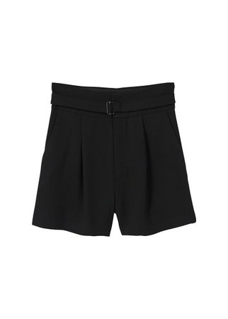 MANGO Belt shorts