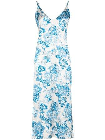 Reformation Sofia floral-print midi slip dress