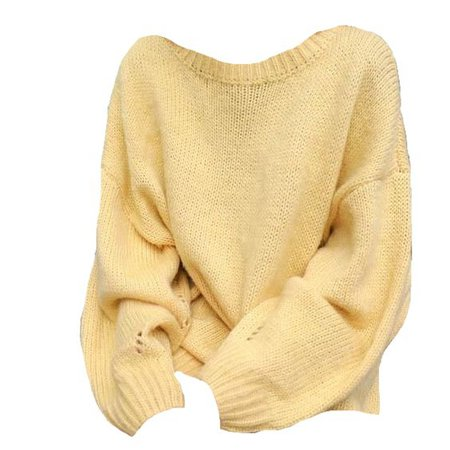 yellow sweater shirt png