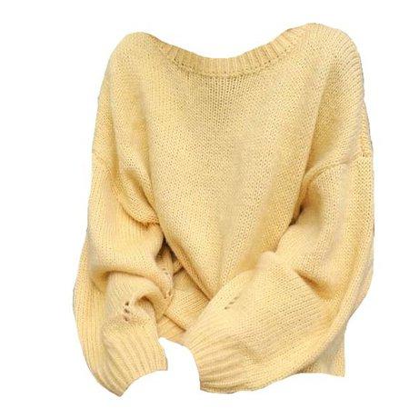 yellow sweater shirt png