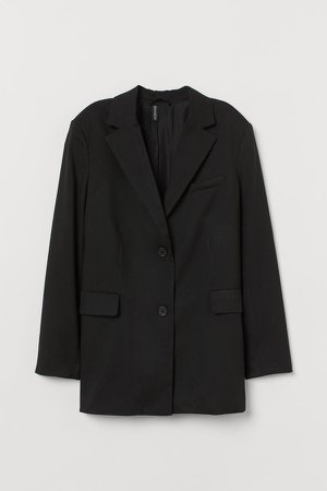 Oversized Blazer - Black