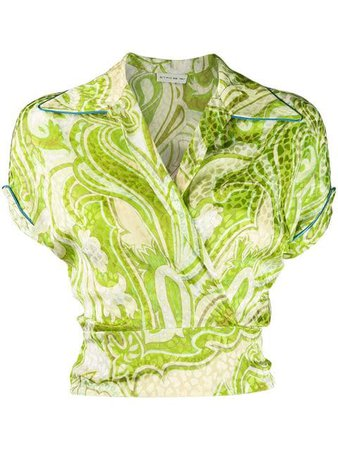 Etro Paisley Embroidered Blouse - Farfetch