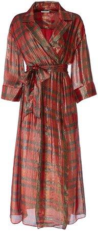 Chap Wrap Maxi Dress
