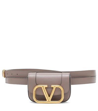 Valentino - Valentino Garavani Supervee leather belt bag | Mytheresa