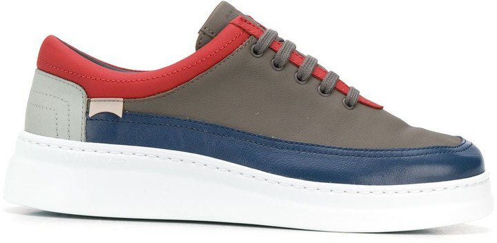 Panelled Trimmed Sneakers