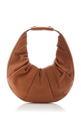 Moon Soft Mini Leather Top Handle Bag By Staud | Moda Operandi