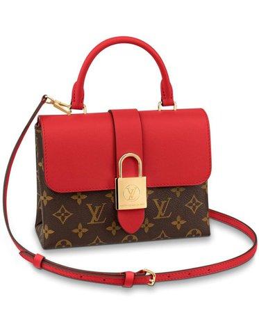 Louis Vuitton Locky BB bag M44322 Red