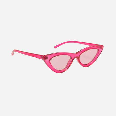 Le Specs Last Lolita Crystal - Hot Pink – Kith