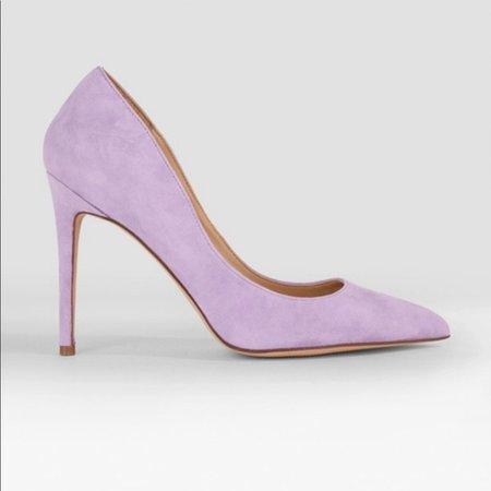 Steve Madden Shoes | Lavender Suede Pump Heel | Poshmark