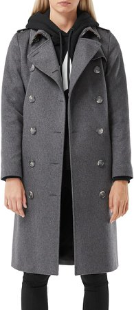 Kensington Cashmere Heritage Trench Coat