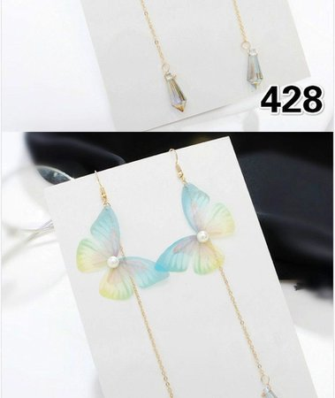 Miss Floral Butterfly Earrings (Various Designs) | YesStyle