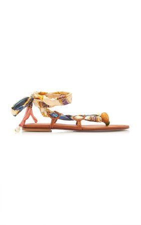 Alameda Turquesa Jasmine Lace Up Sandals