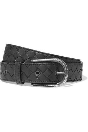 Bottega Veneta | Intrecciatio leather belt | NET-A-PORTER.COM