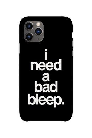 Addison Rae bad bleep iPhone case