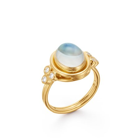 18K Classic Temple Ring – Temple St. Clair