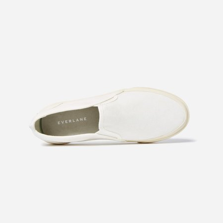 Women's Forever Slip-On Sneaker | Everlane white