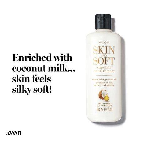 Skin So Soft Supreme Nourishment Enriching Coconut Oil Milk Lotion