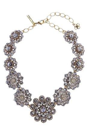 Oscar de la Renta Swarovski Crystal Collar Necklace | Nordstrom