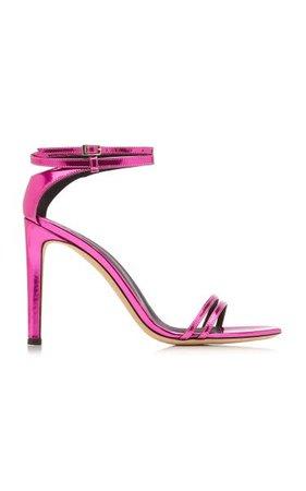 Metallic Leather Sandals By Giuseppe Zanotti | Moda Operandi